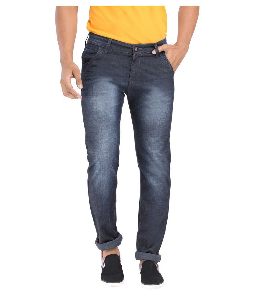 Rican Dark Blue Slim Jeans