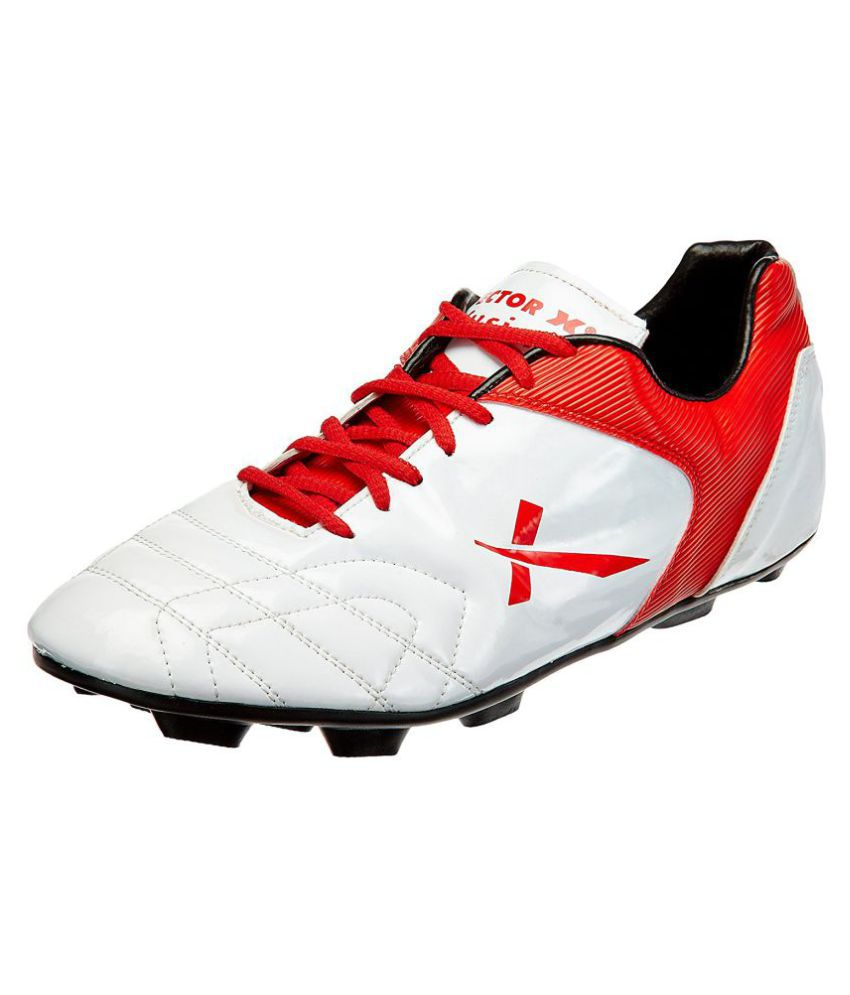 c82de123e12e9e Vector X Fusion Red Football Shoes - Buy Vector X Fusion Red Football Shoes  Online at Best Prices in India on Snapdeal