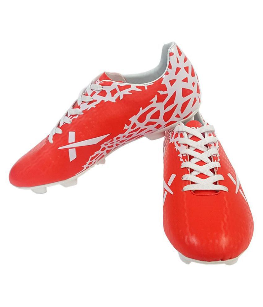 Vector X Wave Red Football Shoes