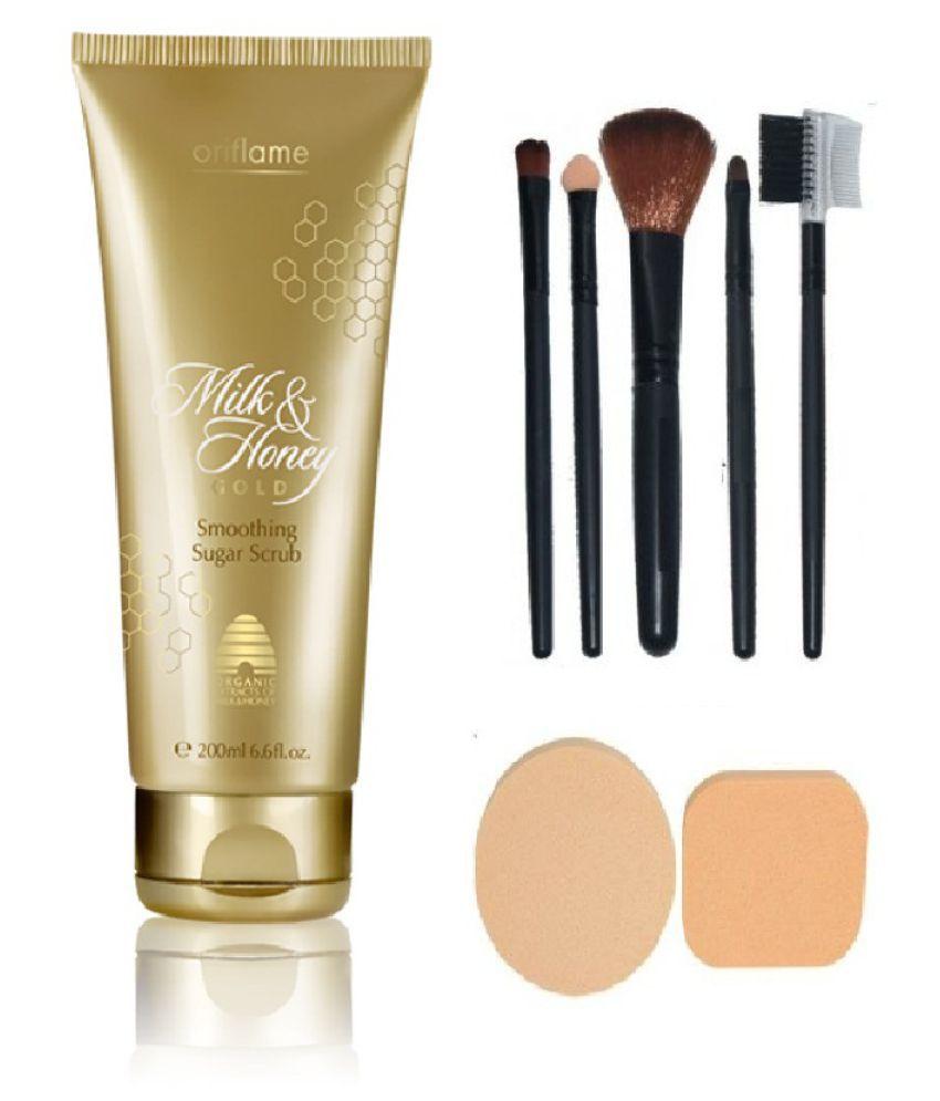 Oriflame Milk Honey Gold Smoothing Sugar Facial Scrub 200 Gm Buy