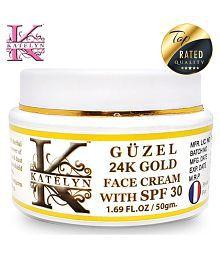 Katelyn Güzel 24K Gold Face Cream With SPF 30 Day Cream 50 Gm