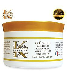 Katelyn Güzel 24K Gold Face Cream With SPF 30 Pro Series Day Cream 500 Gm