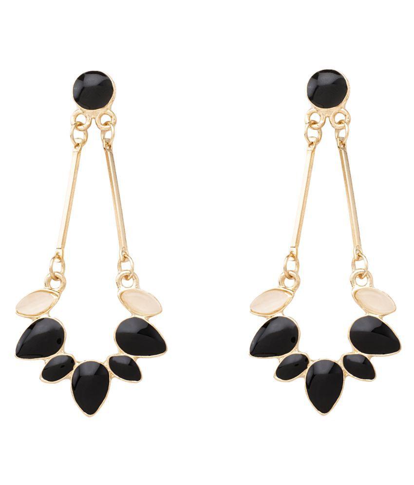 Kamsun metal alloy women Danglers ear rings