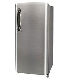LG 190 Ltr 3 Star GL-B201APZW Single Door Refrigerator - Steel