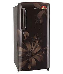 LG 190 Ltr 3 Star GL-B201AHAW Single Door Refrigerator - Brown