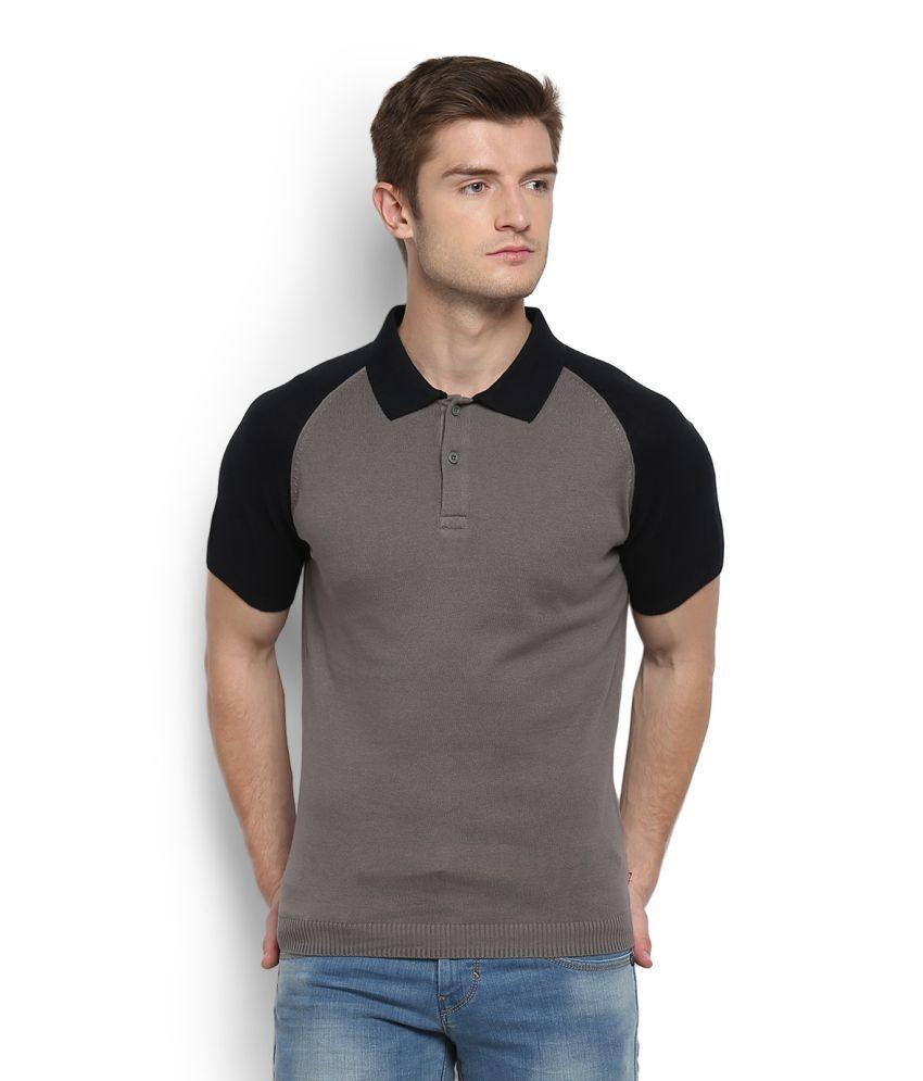 Levi's Grey Henley T-Shirt