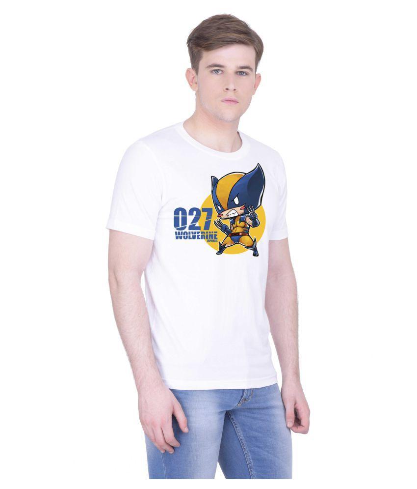 Voguestyle White Round T-Shirt