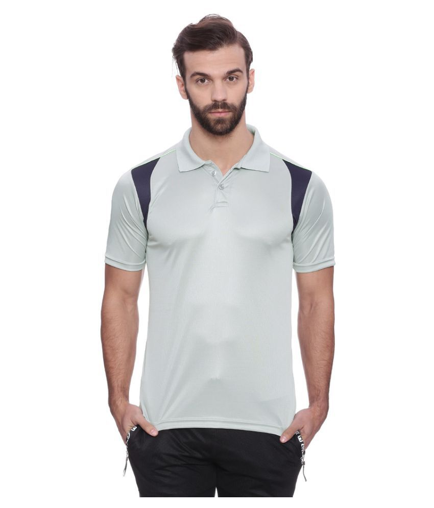 Campus Sutra Grey Polyester Jersey Single Pack