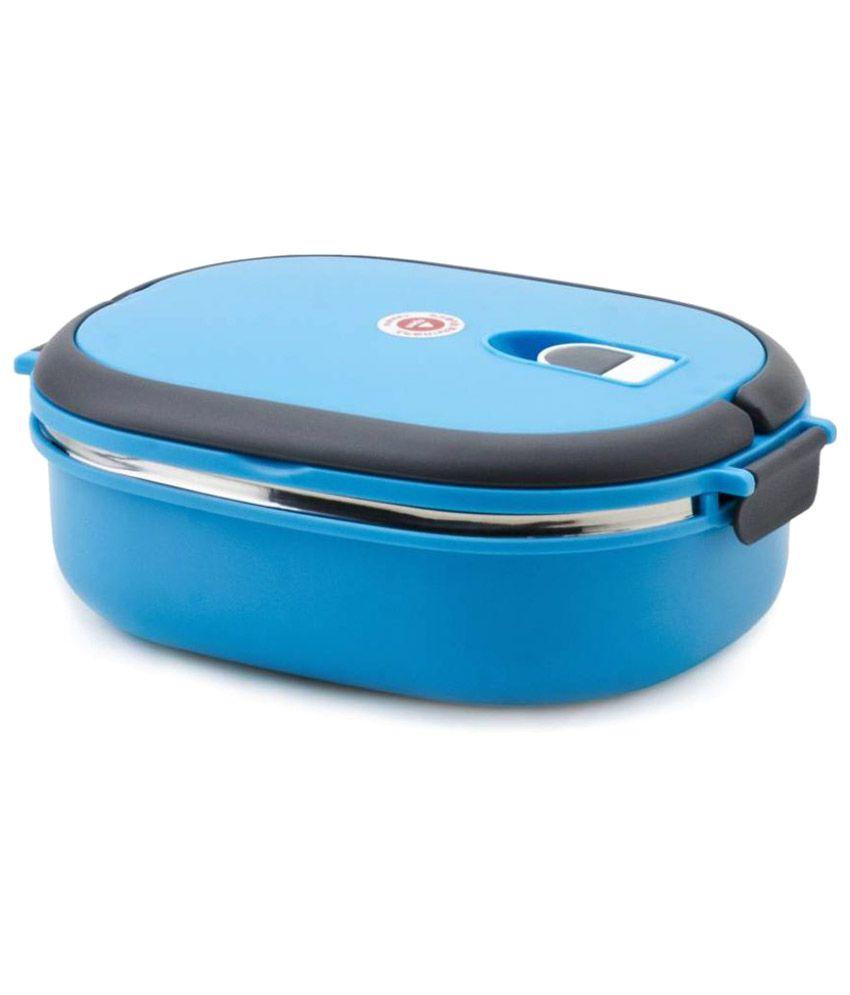 Jeeya Blue Stainless Steel Lunch Box