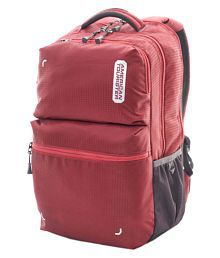 American Tourister Red DODGE 03 Backpack