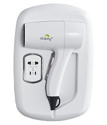 Dolphy Professional Wall mounted Hair Dryer ( White )