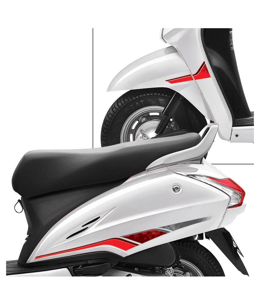 Autographix honda activa 4g express scooter graphic set of 6 pcs