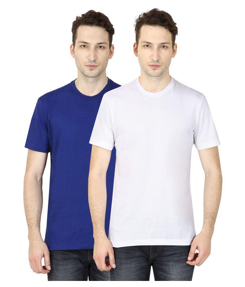 Trendberry Multi Round T-Shirt Pack of 2