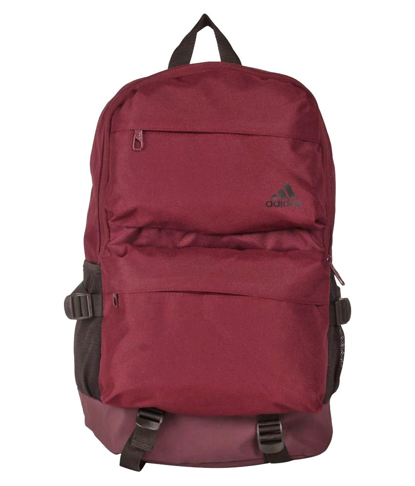 3a6cb4ca1c9 Adidas Wine St Bp6 Backpack - Buy Adidas Wine St Bp6 Backpack Online at Low  Price - Snapdeal