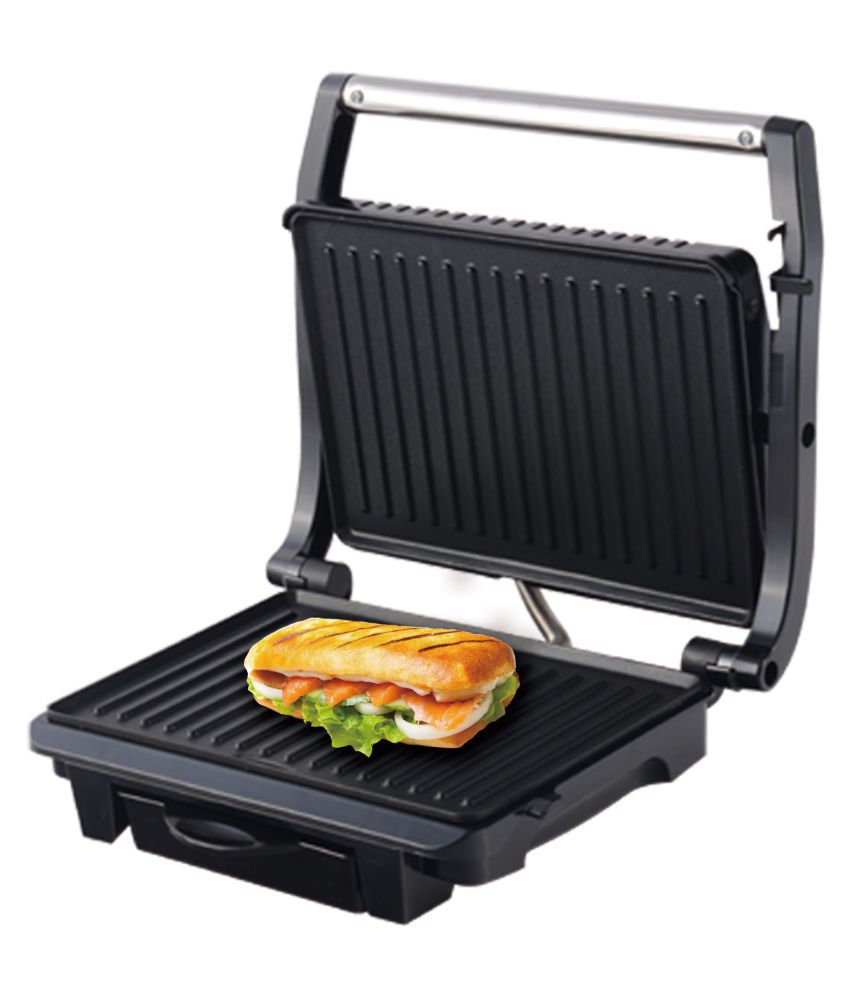 stainless quest hot portion sandwich steel tj toaster maker image
