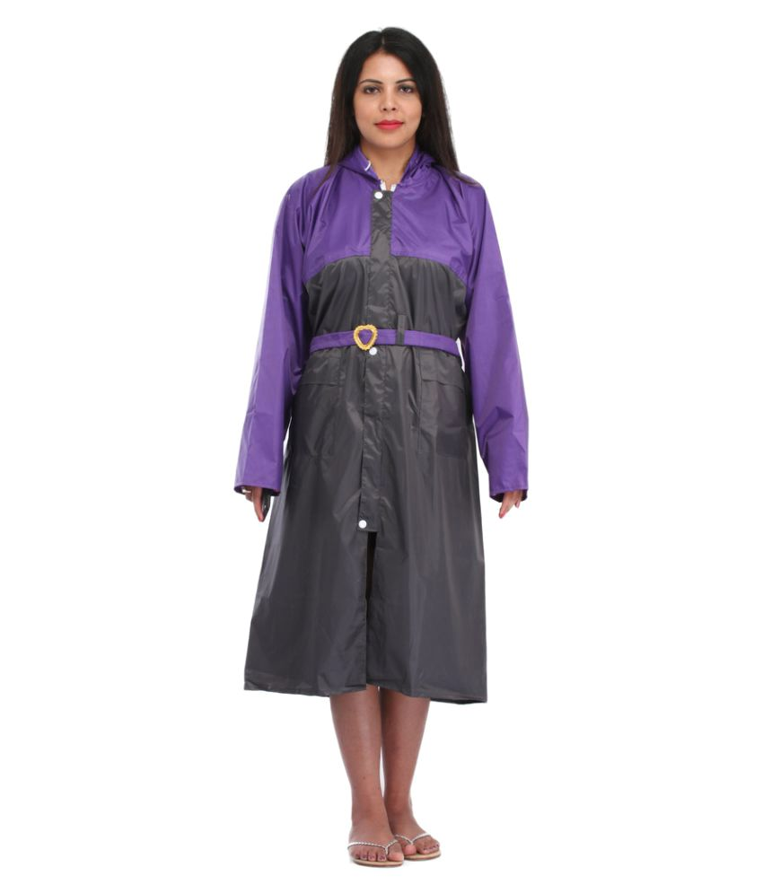 Ellis Polyester Long Raincoat
