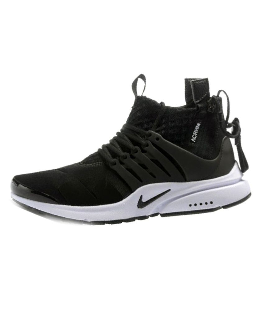 info for ee6a4 df8e6 Nike X Acronym Air Presto Mid Black Training Shoes - Buy Nike X Acronym Air  Presto Mid Black Training Shoes Online at Best Prices in India on Snapdeal