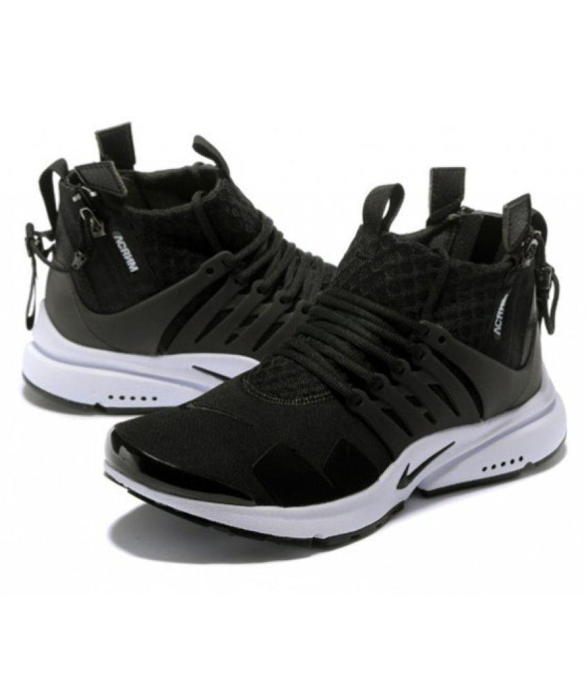 check out 79aa4 0c4f6 ... Nike X Acronym Air Presto Mid Black Training Shoes ...