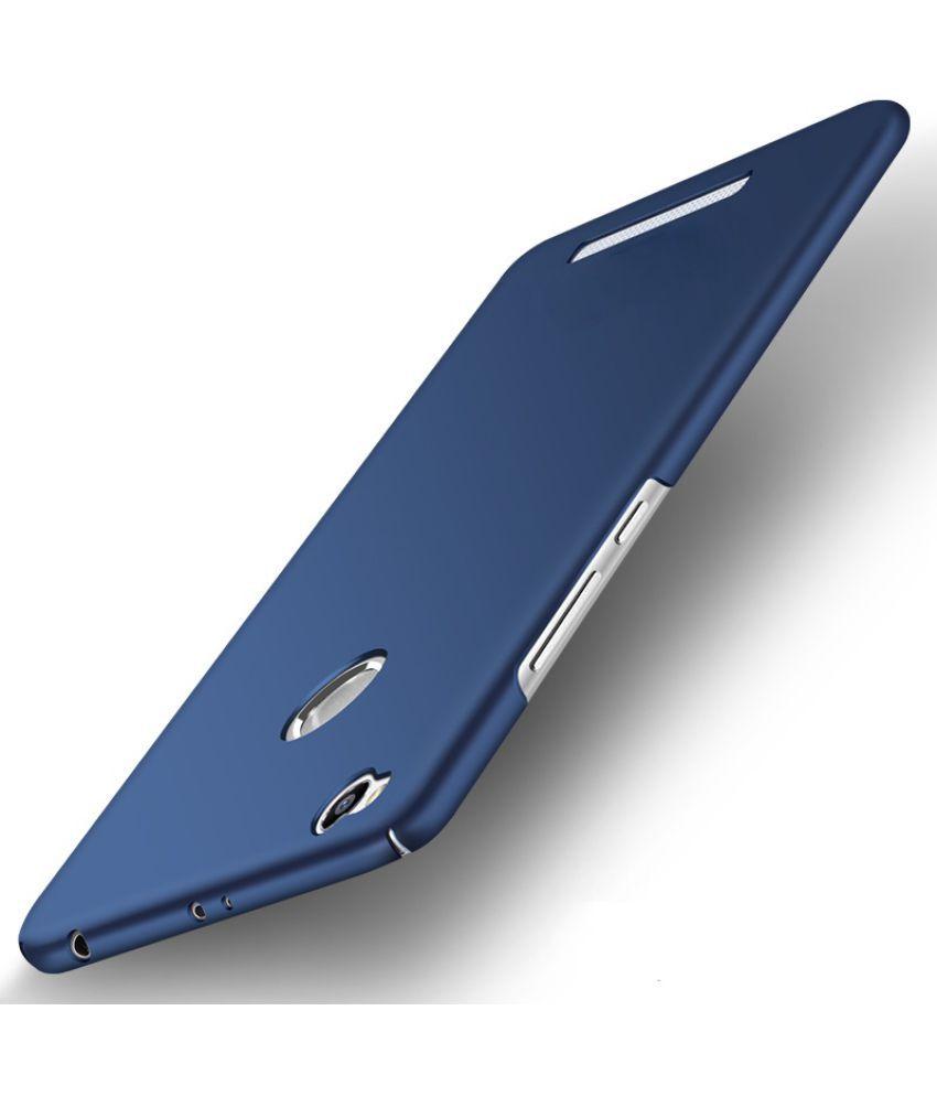 separation shoes f1273 9c60d Xiaomi Redmi 3s Prime Plain Cases Wow Imagine - Blue