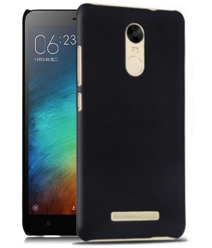 7fbc002927a Xiaomi Redmi Note 3 Plain Cases Wow Imagine - Black - Plain Back Covers  Online at Low Prices