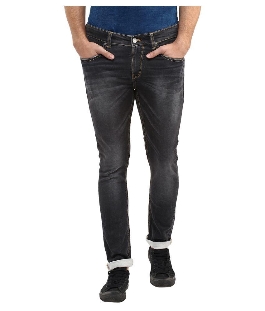 Spykar Grey Super Skinny Jeans