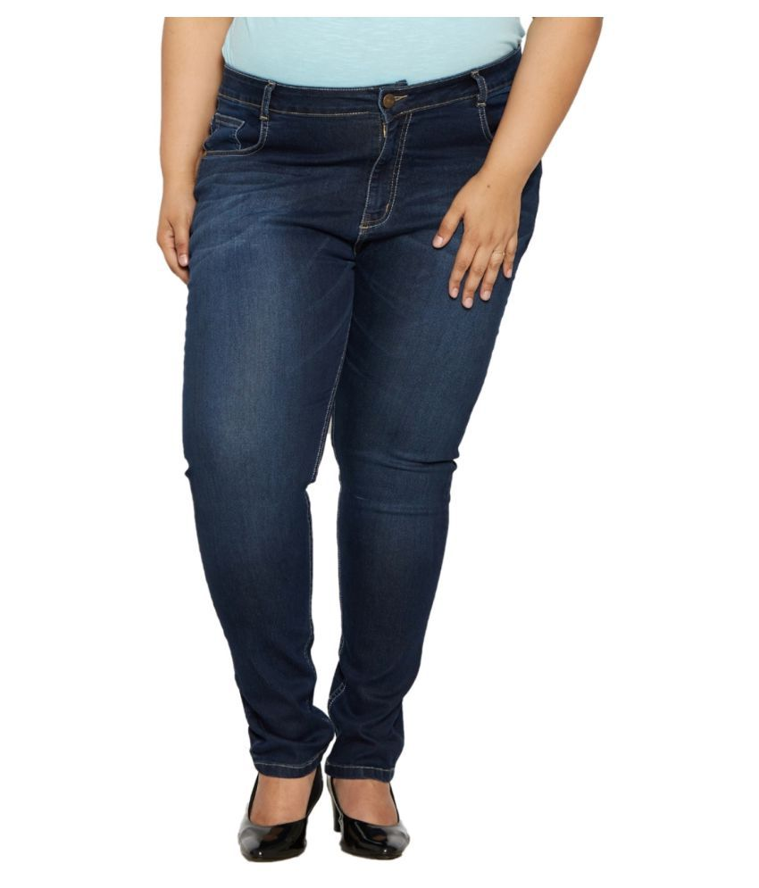 ee41ad8ef85 Buy Zush Denim Plus Size Jeans Online at Best Prices in India - Snapdeal