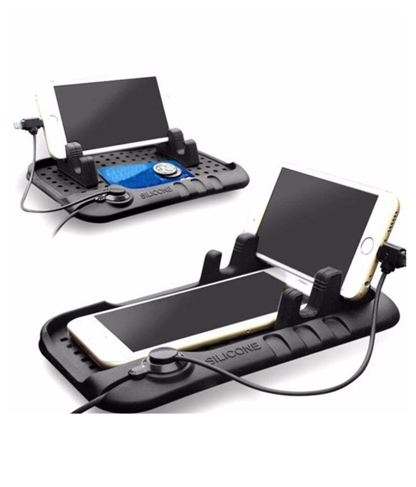 Shopizone Car Mobile Holder Magnetic for Other Surfaces - Black: Buy ...