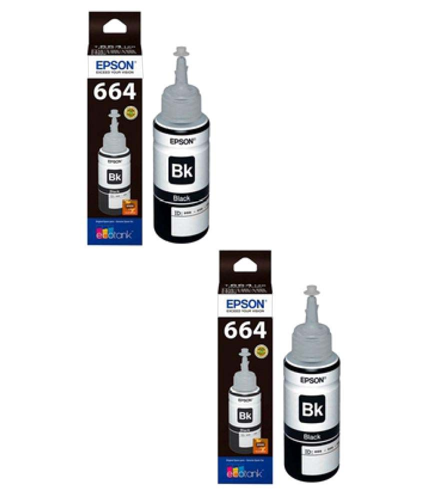 Epson Black Ink Pack of 2