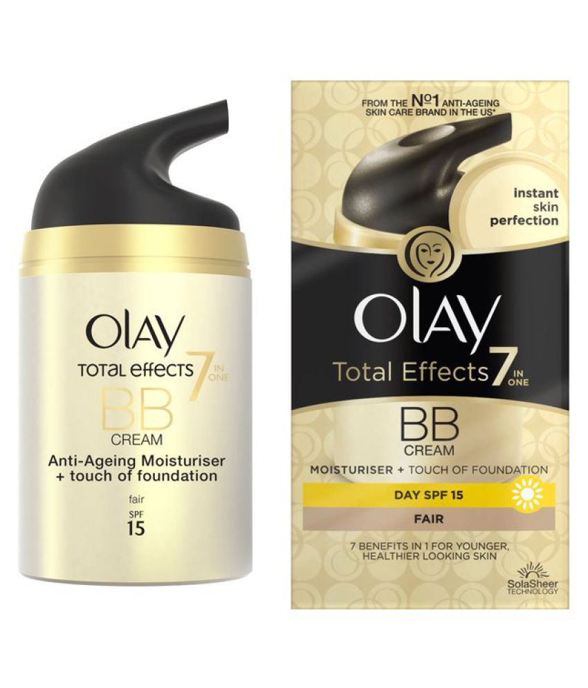 Olay Total Effects 7 In One Day Cream Touch Of Foundation Spf 15 50gr Bb 50 Gm Buy At Best Prices India