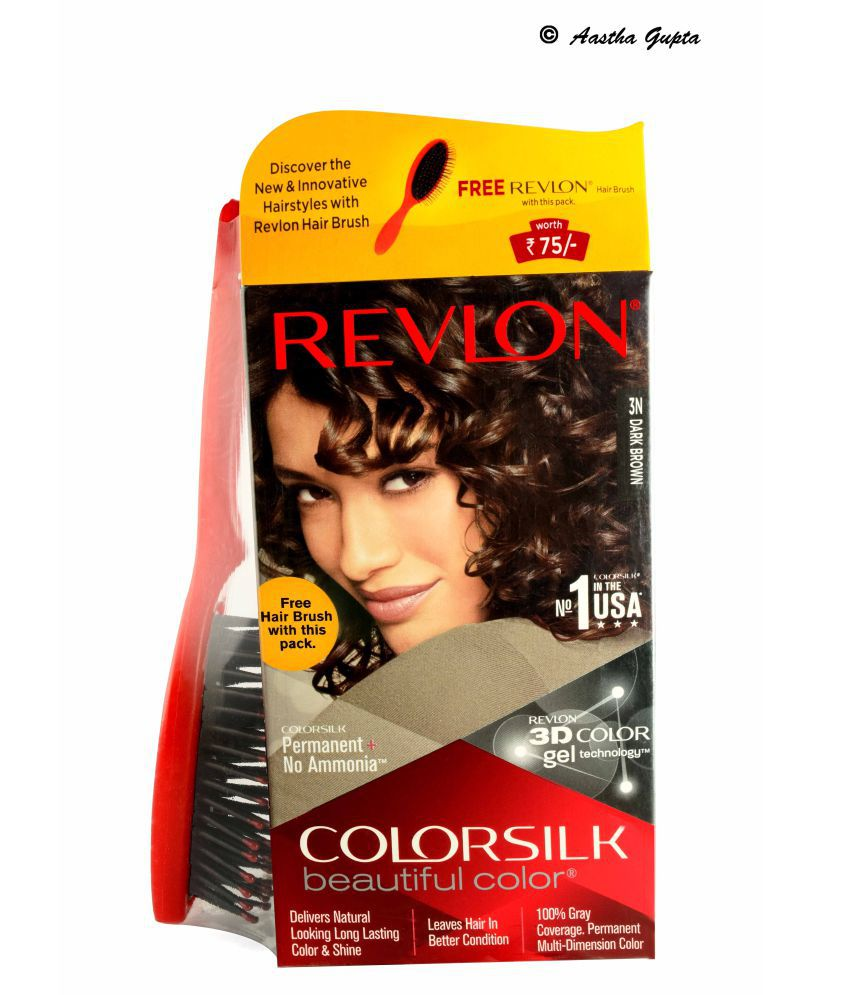 Revlon Colorsilk Hair Color Dark Brown 3n Temporary Hair Color Dark