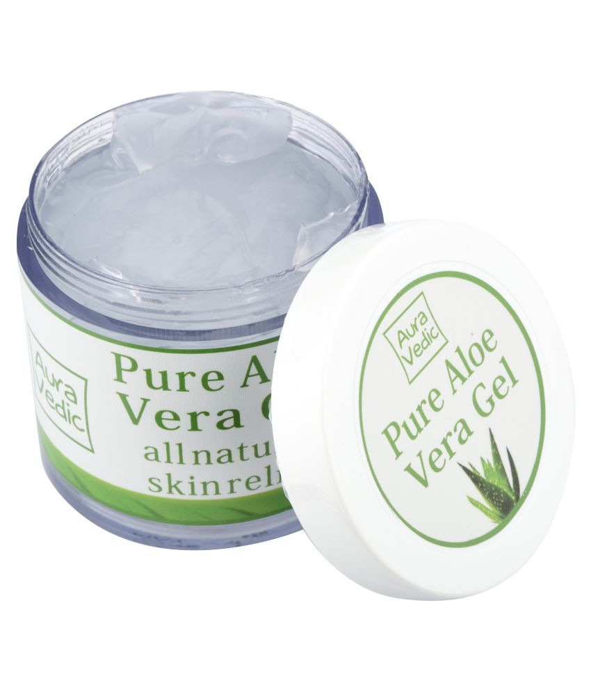auravedic pure aloe vera gel 100gm day cream 100 gm buy. Black Bedroom Furniture Sets. Home Design Ideas