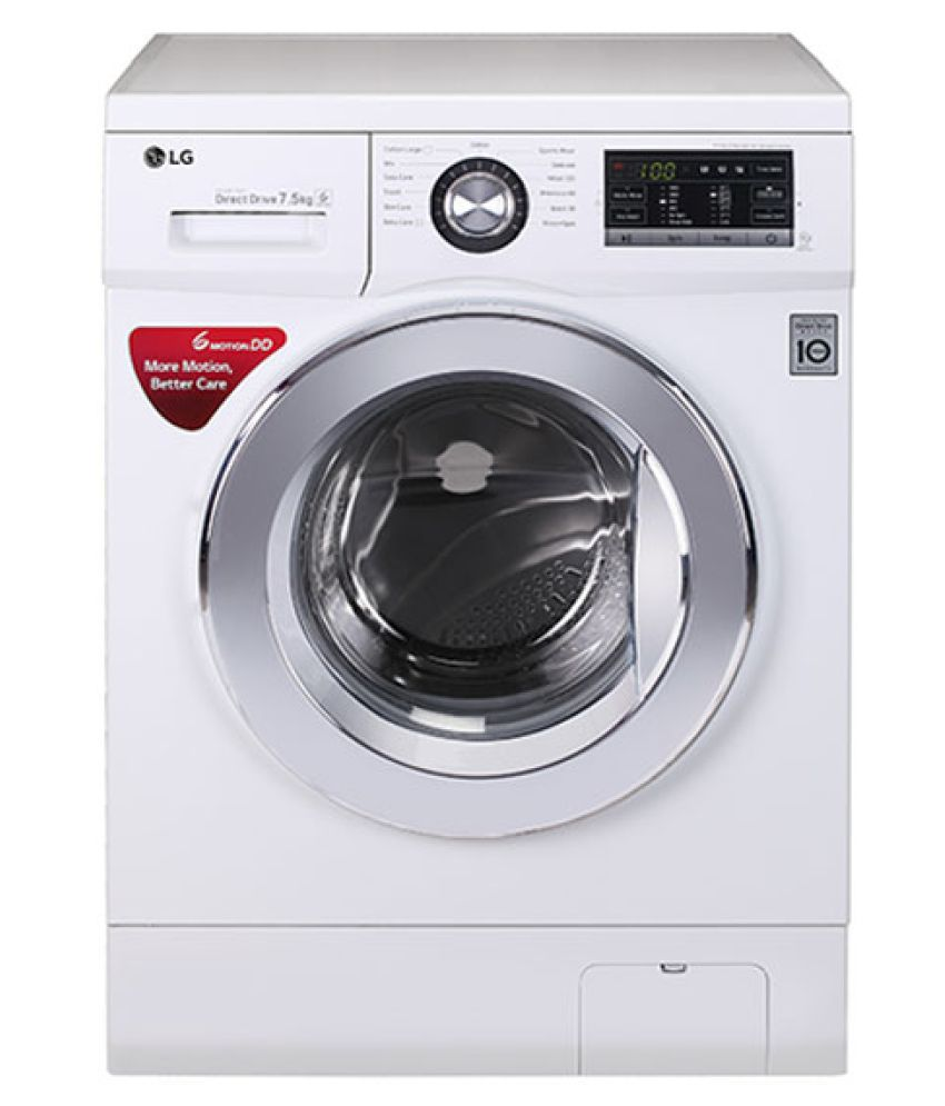 LG 7.5 Kg FH2G6EDNL22 Fully Automatic Fully Automatic Front Load...