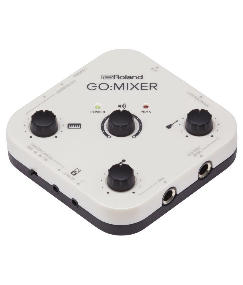 Roland Roland GO: Mixer Audio Mixer for smartphones Digital Mixers