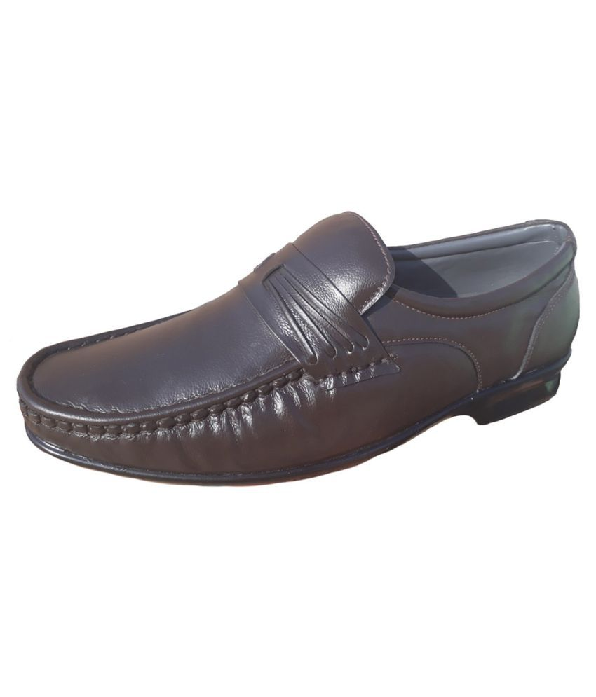 i toe office genuine leather formal shoes price in india