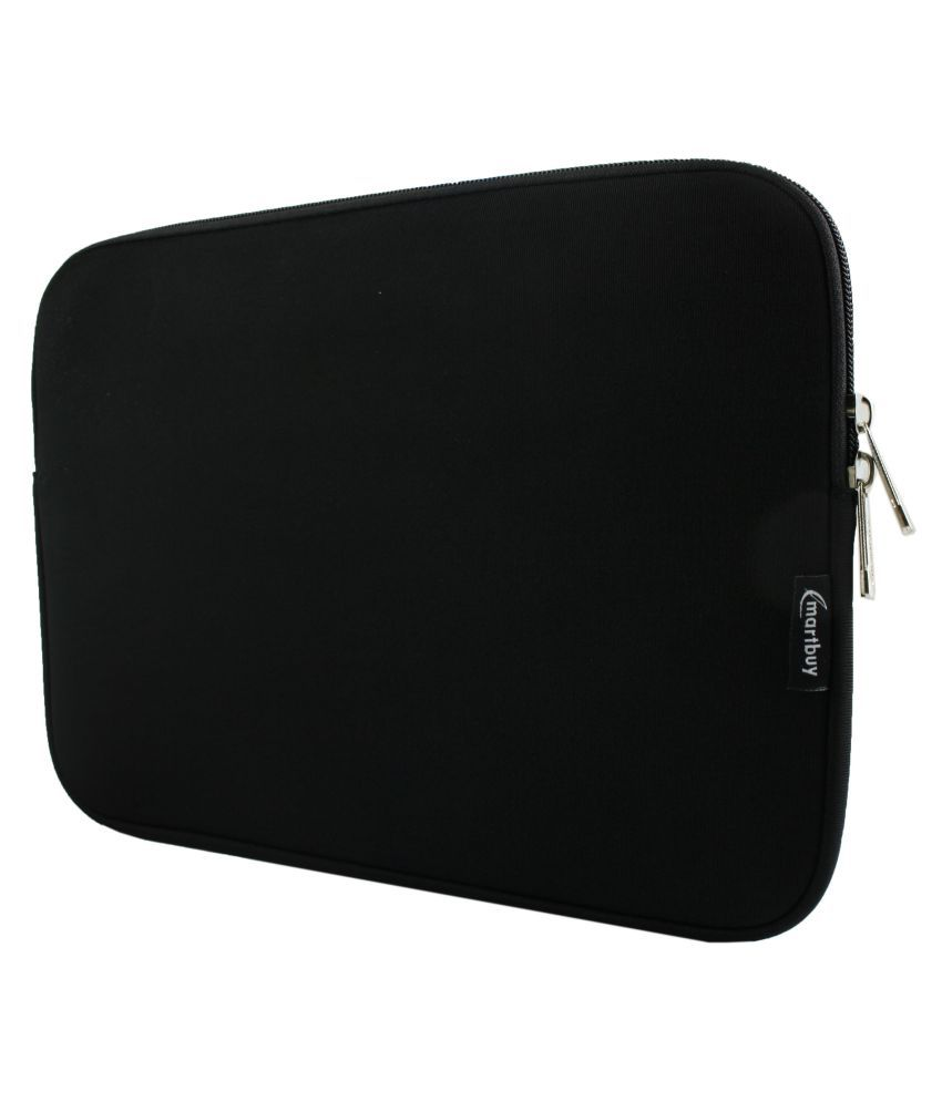 Emartbuy Black Laptop Sleeves