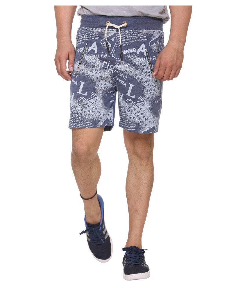 Sports 69 Blue Shorts