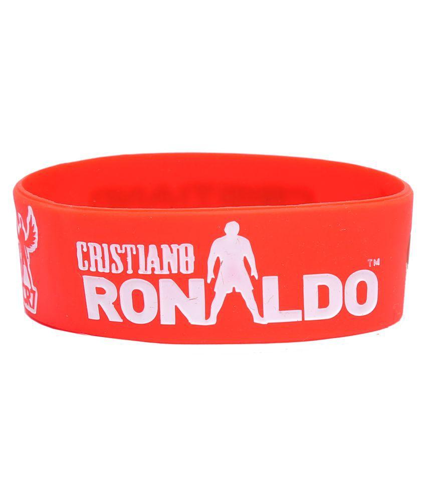 Haflingerr stylish Cristiano Ronaldo red wristband.