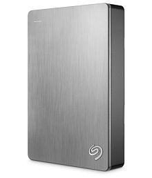 Seagate Backup Plus Slim 4TB Portable External Hard Drive & Mobile Device Backup (Silver)