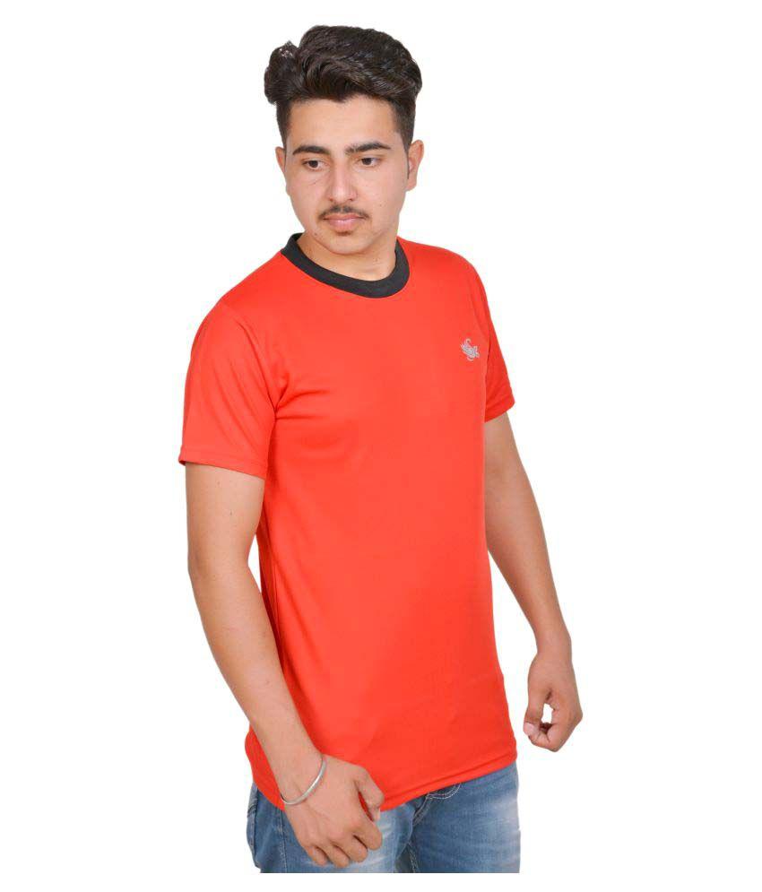 MSG Red Round T-Shirt