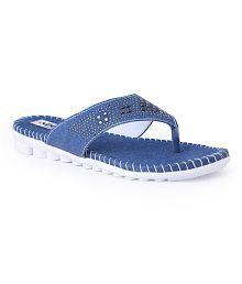 Addo Blue Slippers