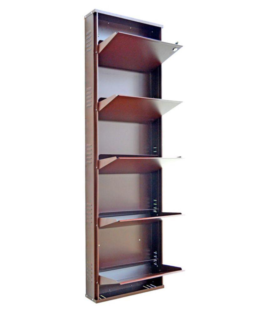 Vladiva 5 Level Metal Shoe Rack in