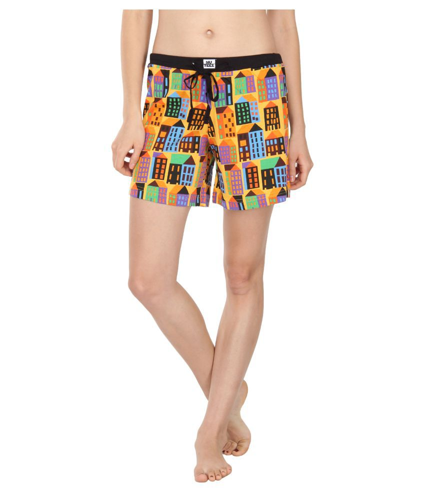 Nuteez Cotton Night Shorts
