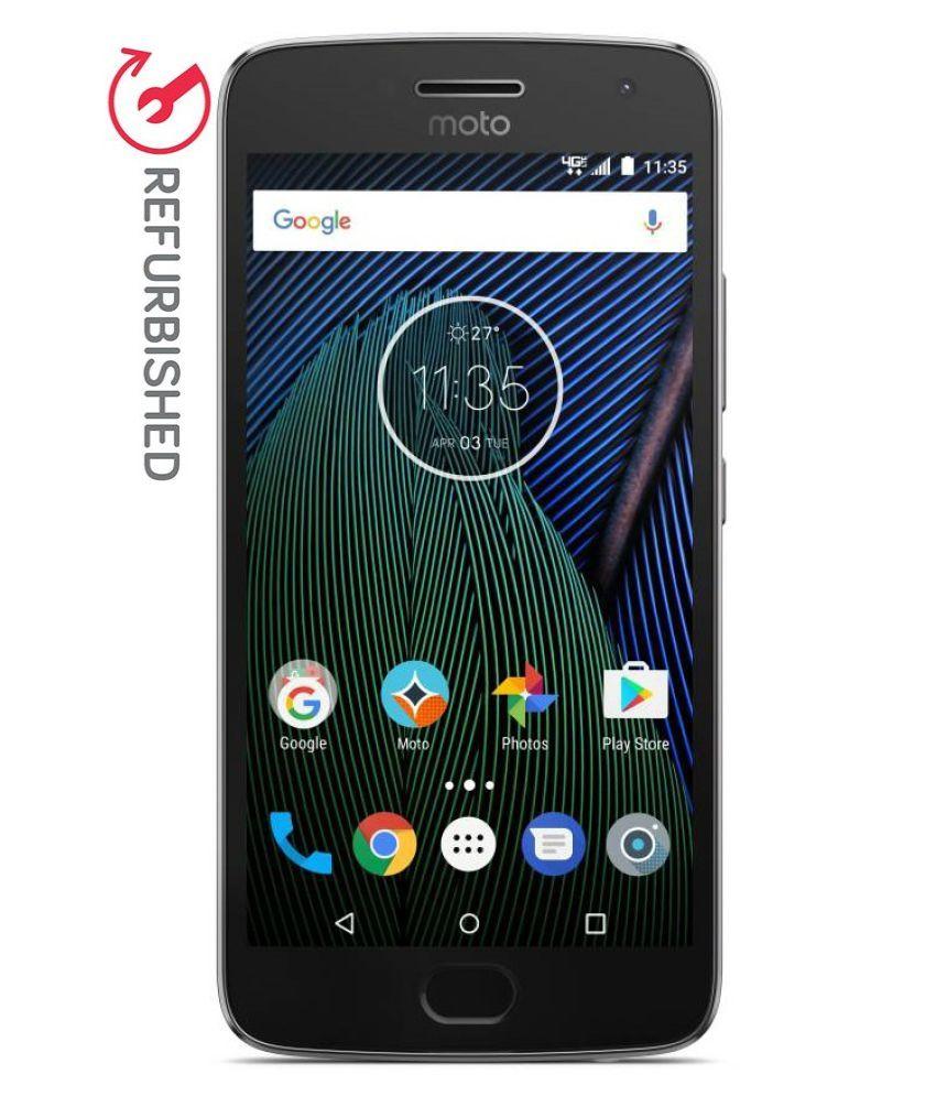 REFURBISHED Motorola G5 Plus 32GB Lunar Grey 4 GB RAM