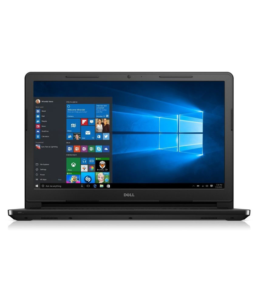 Dell Inspiron Inspiron 15 Notebook Core i7 (6th Generation) 8 GB 39.62cm(15.6) Windows 10 Home without MS Office 2 GB Black