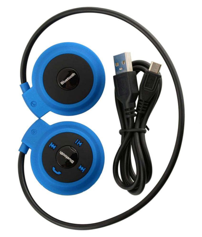 Fellkon Mini50301 Wireless Bluetooth Headphone Blue