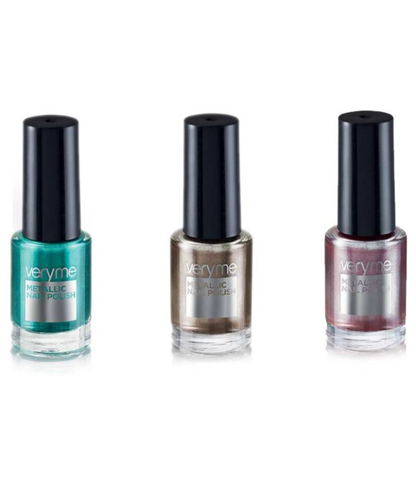 Very Me Metallic Nail Polish Shades: Oriflame Sweden Very Me Metallic Nail Polish Pink, Brown