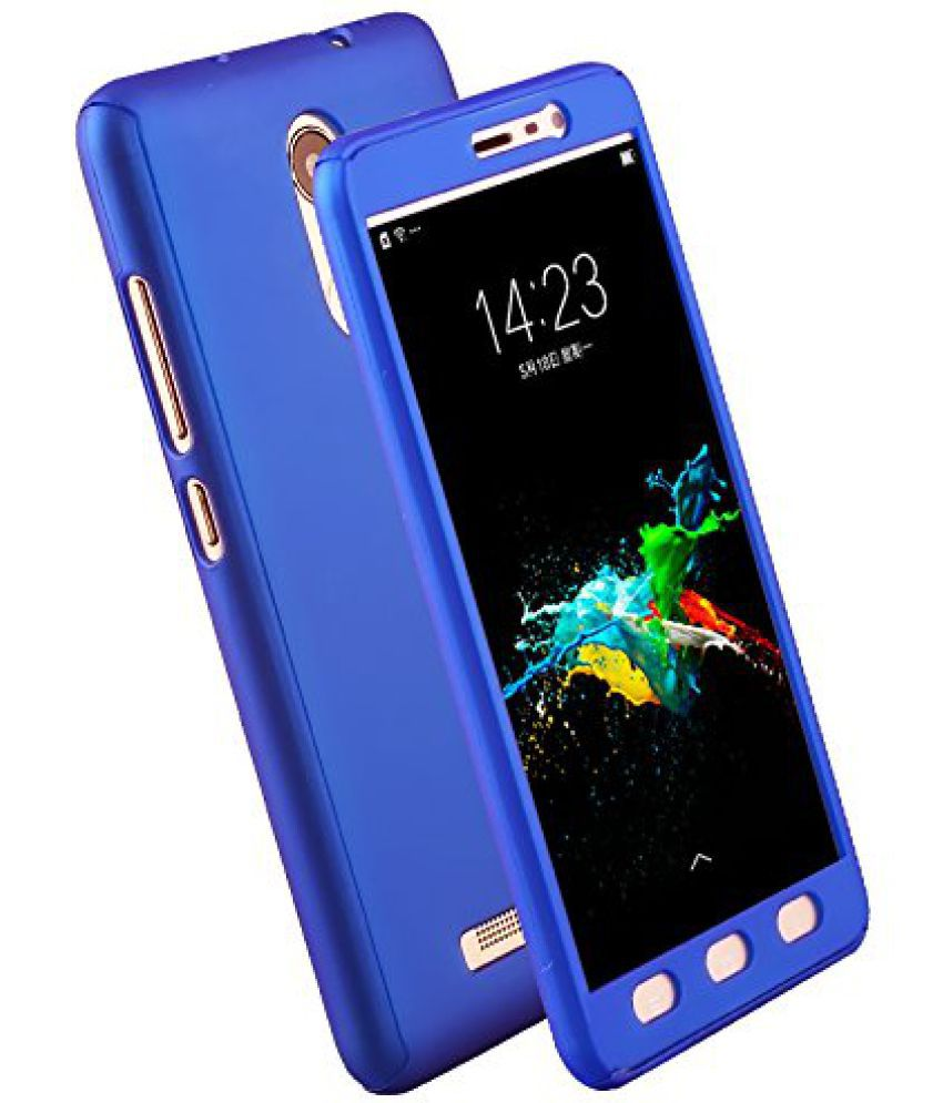 Samsung Galaxy J5 Prime Plain Cases Kosher Traders - Blue
