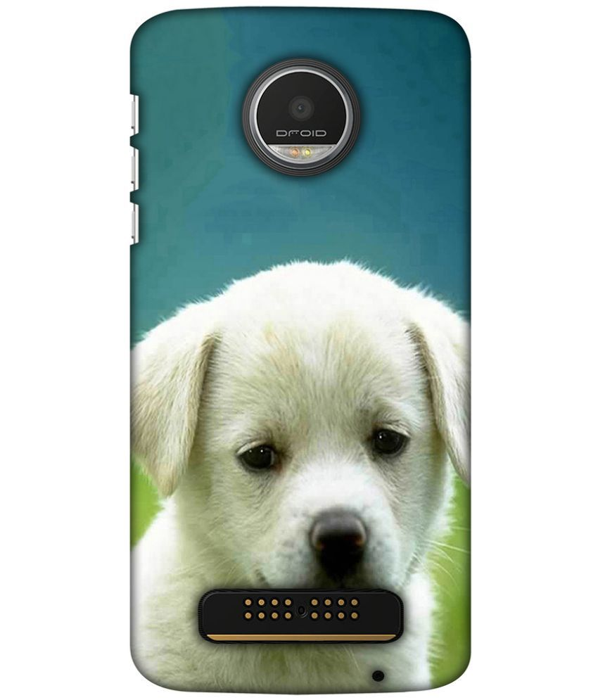 Moto Z Play Printed Cover By Blutec