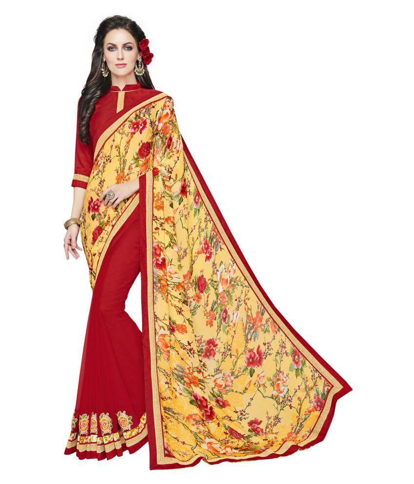 Melluha Multicoloured Jacquard Saree