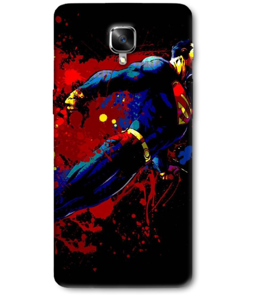 OnePlus 3 T Printed Cover By Case king